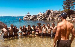 Pendola running team Lake Tahoe