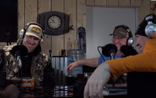 Grant Kypers Podcast at Buck Paradise, Canada